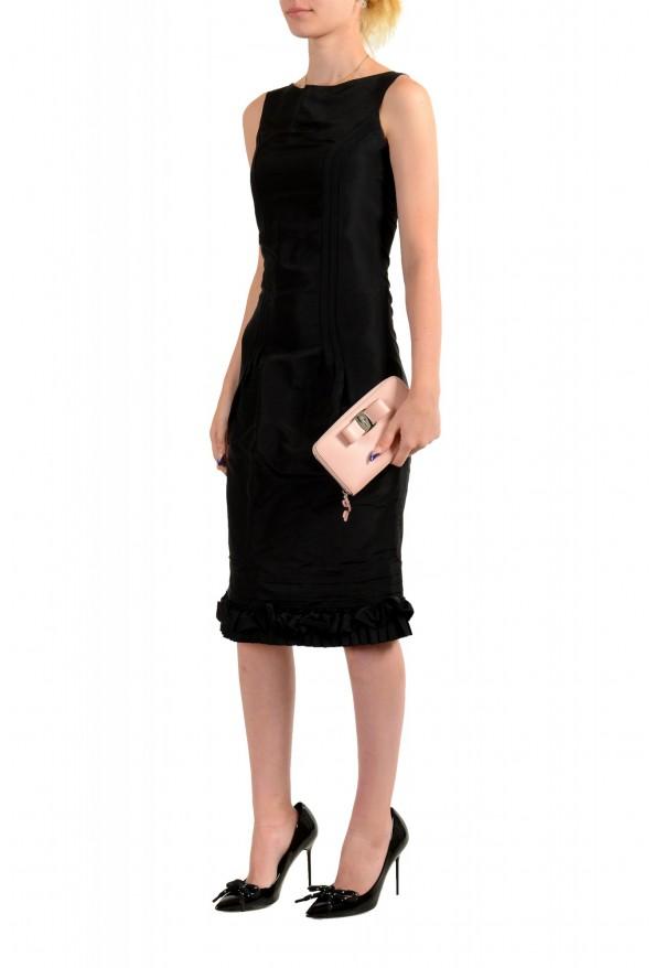 Salvatore Ferragamo Women's Pink 100% Leather Zip Around Wallet: Picture 6