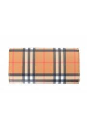 "Burberry Women's ""Halton"" Multi-Color Checkered Leather Wallet: Picture 2"