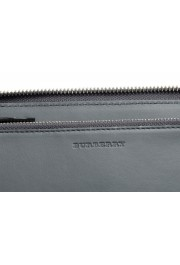 """Burberry Women's """"RENFREW"""" Multi-Color Checkered Leather Zip Around Wallet: Picture 3"""