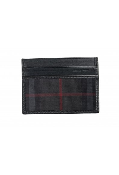 Burberry Unisex Checkered Leather Multi-Color Credit Card Case: Picture 2