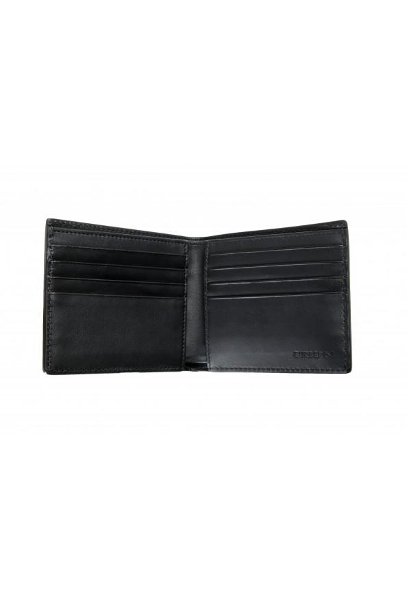 Burberry Men's Black Logo Print Leather Bifold Wallet: Picture 2