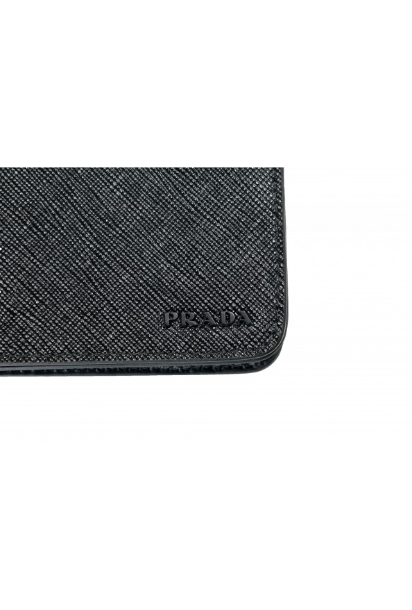 Prada Unisex Black Saffiano Leather 2ZH072 IPhone Case Wallet Case: Picture 3