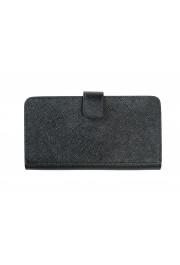 Prada Unisex Black Saffiano Leather 2ZH072 IPhone Case Wallet Case: Picture 4