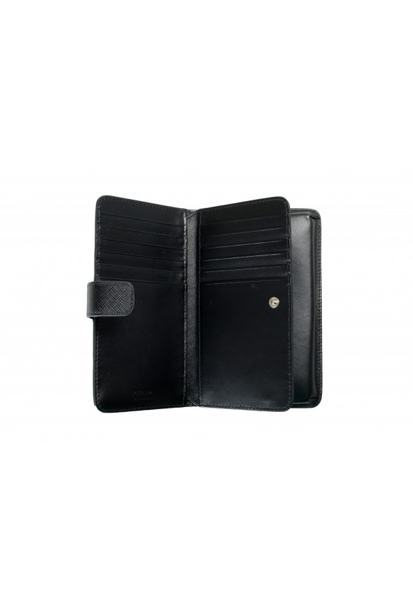 Prada Unisex Black Saffiano Leather 2ZH072 IPhone Case Wallet Case: Picture 5