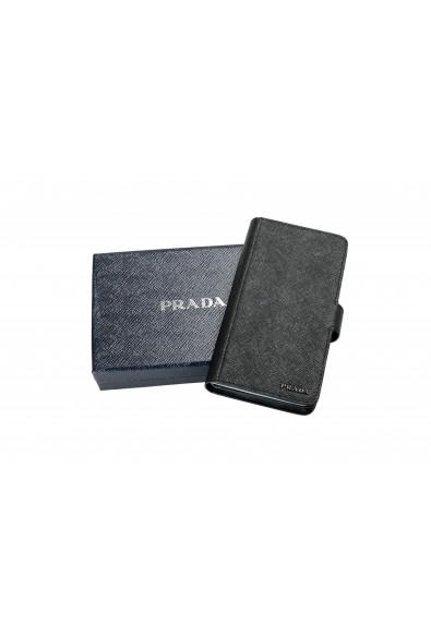 Prada Unisex Black Saffiano Leather 2ZH072 IPhone Case Wallet Case: Picture 2