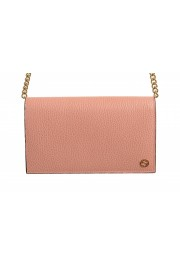 Gucci Women's Dust Pink Textured Leather 466506 CAO0G 5806 Handbag Bag: Picture 2