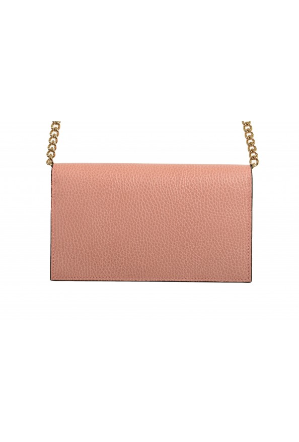 Gucci Women's Dust Pink Textured Leather 466506 CAO0G 5806 Handbag Bag: Picture 4