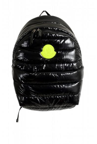 "Moncler Women's Black ""C-XCOM"" Insulated Canvas Backpack Bag"