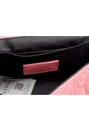 Versace Women's Pink Leather Quilted Small Crossbody Bag: Picture 6