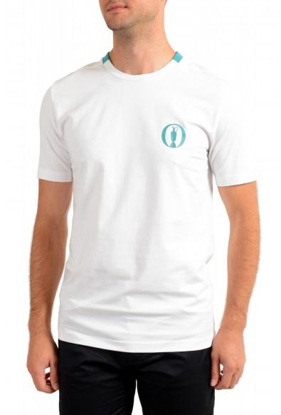 """Hugo Boss Men's """"Tee BO"""" White Crewneck T-Shirt"""