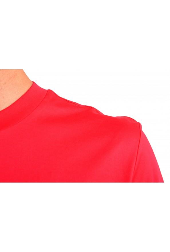 "Hugo Boss Men's ""Tiburt 204"" Red Graphic Print Crewneck T-Shirt: Picture 4"