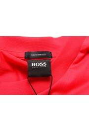 "Hugo Boss Men's ""Tiburt 204"" Red Graphic Print Crewneck T-Shirt: Picture 5"