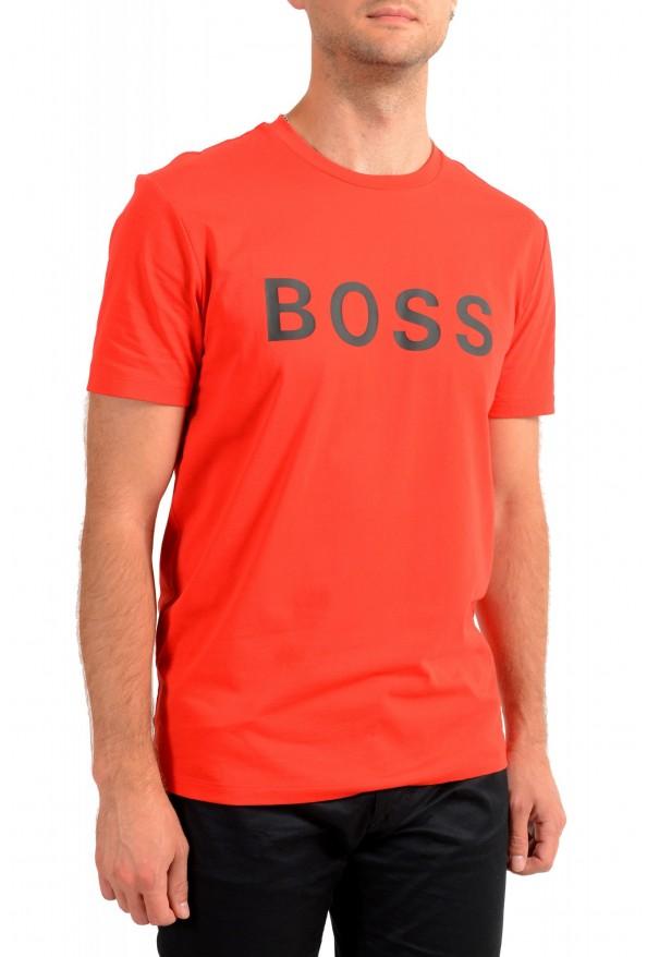 "Hugo Boss Men's ""Tiburt 171_BB"" Red Graphic Print Crewneck T-Shirt: Picture 2"
