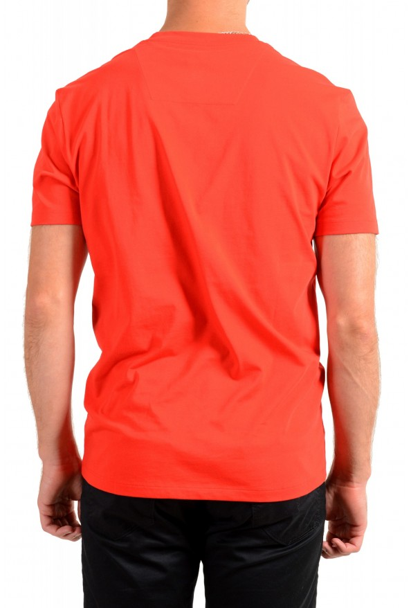"Hugo Boss Men's ""Tiburt 171_BB"" Red Graphic Print Crewneck T-Shirt: Picture 3"
