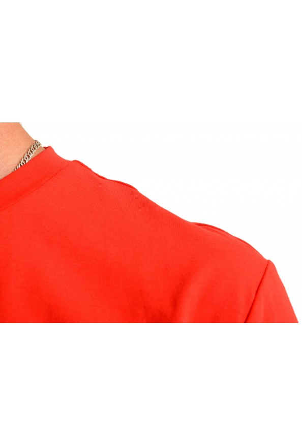 "Hugo Boss Men's ""Tiburt 171_BB"" Red Graphic Print Crewneck T-Shirt: Picture 4"