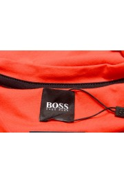 "Hugo Boss Men's ""Tiburt 171_BB"" Red Graphic Print Crewneck T-Shirt: Picture 5"