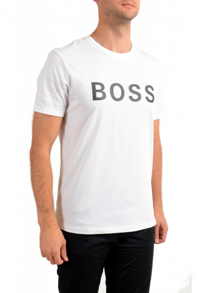 "Hugo Boss Men's ""Tiburt 171_BB"" White Graphic Print Crewneck T-Shirt : Picture 2"
