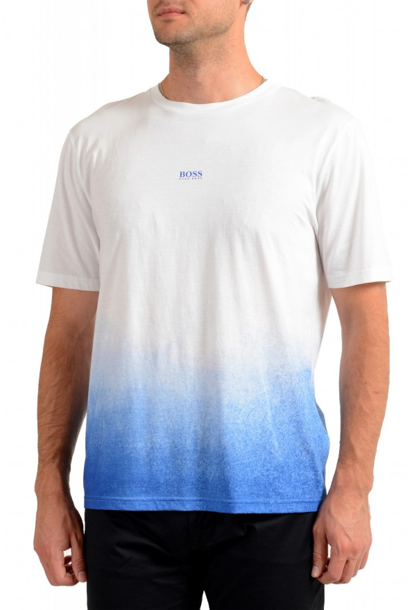 "Hugo Boss Men's ""Tegrade"" Multi-Color Crewneck T-Shirt"