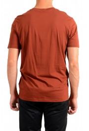 "Hugo Boss Men's ""Tsummery"" Brown Graphic Print Crewneck T-Shirt : Picture 3"