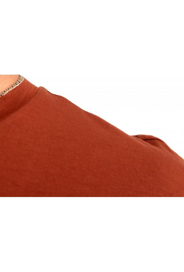 "Hugo Boss Men's ""Tsummery"" Brown Graphic Print Crewneck T-Shirt : Picture 4"