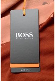 "Hugo Boss Men's ""Tsummery"" Brown Graphic Print Crewneck T-Shirt : Picture 6"