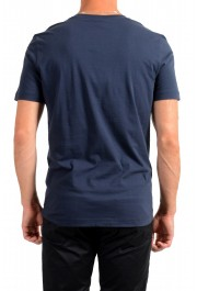 "Hugo Boss Men's ""Tee 9"" Blue Graphic Print Crewneck T-Shirt: Picture 3"