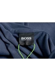 "Hugo Boss Men's ""Tee 9"" Blue Graphic Print Crewneck T-Shirt: Picture 5"