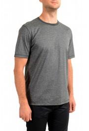 "Hugo Boss Men's ""Tseed"" Gray Striped Crewneck T-Shirt: Picture 2"
