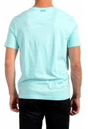 "Hugo Boss Men's ""Tee 1"" Blue Graphic Print Crewneck T-Shirt: Picture 3"