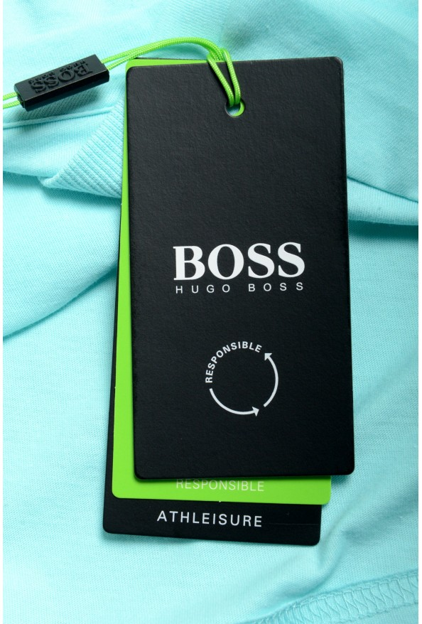 "Hugo Boss Men's ""Tee 1"" Blue Graphic Print Crewneck T-Shirt: Picture 6"