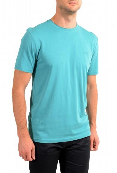 "Hugo Boss Men's ""Trust"" Teal Blue Crewneck T-Shirt : Picture 2"