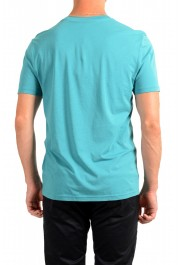 "Hugo Boss Men's ""Trust"" Teal Blue Crewneck T-Shirt : Picture 3"