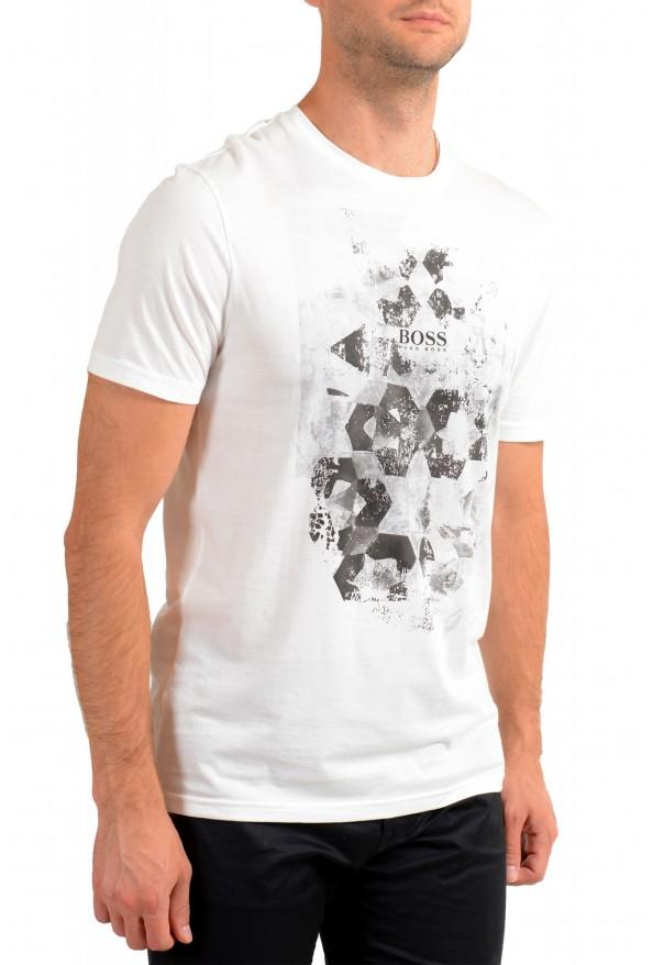 "Hugo Boss Men's ""Tsummery"" White Graphic Print Crewneck T-Shirt: Picture 2"