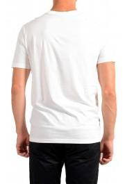 "Hugo Boss Men's ""Tsummery"" White Graphic Print Crewneck T-Shirt: Picture 3"