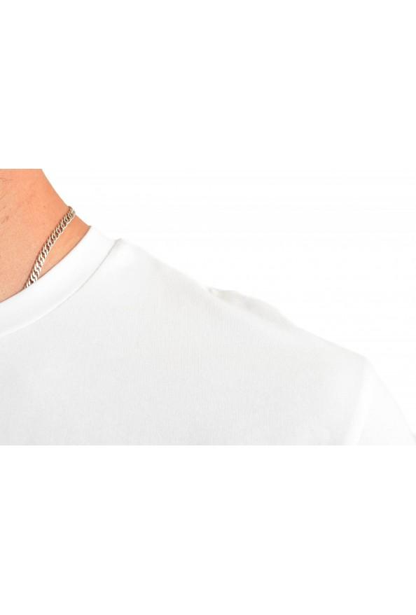"Hugo Boss Men's ""Tee 10"" White Graphic Print Crewneck T-Shirt : Picture 4"