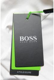 "Hugo Boss Men's ""Tee 10"" White Graphic Print Crewneck T-Shirt : Picture 6"
