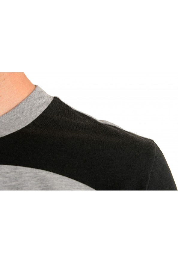 "Hugo Boss Men's ""Tiburt 230"" Gray Graphic Print Crewneck T-Shirt: Picture 4"