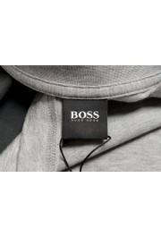 "Hugo Boss Men's ""Tiburt 230"" Gray Graphic Print Crewneck T-Shirt: Picture 5"