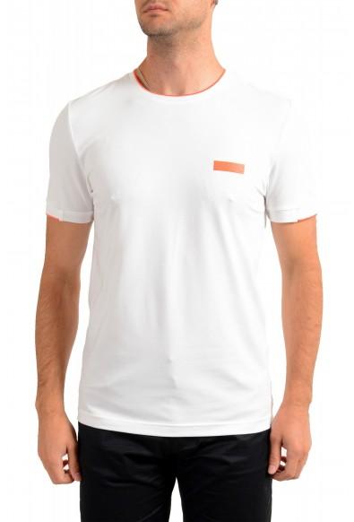 "Hugo Boss Men's ""Tee Batch"" Slim Fit White Crewneck T-Shirt"