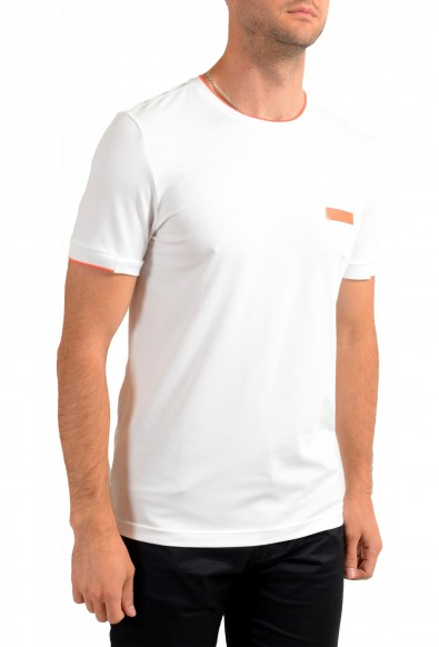 "Hugo Boss Men's ""Tee Batch"" Slim Fit White Crewneck T-Shirt: Picture 2"