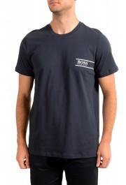 "Hugo Boss Men's ""T-Shirt RN 24"" Black Crewneck T-Shirt"