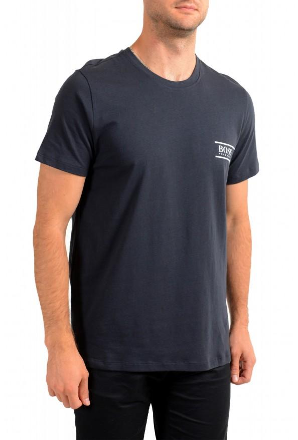 "Hugo Boss Men's ""T-Shirt RN 24"" Black Crewneck T-Shirt : Picture 2"