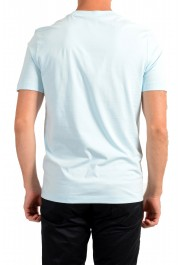 Hugo Boss Men's Tiburt 244 Light Blue Graphic Print Crewneck T-Shirt: Picture 3