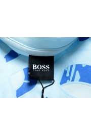 Hugo Boss Men's Tiburt 244 Light Blue Graphic Print Crewneck T-Shirt: Picture 5