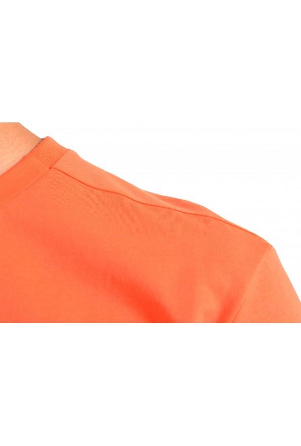 "Hugo Boss Men's ""Teeonic"" Orange Graphic Print Crewneck T-Shirt: Picture 4"