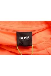 "Hugo Boss Men's ""Teeonic"" Orange Graphic Print Crewneck T-Shirt: Picture 5"