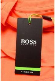 "Hugo Boss Men's ""Teeonic"" Orange Graphic Print Crewneck T-Shirt: Picture 6"