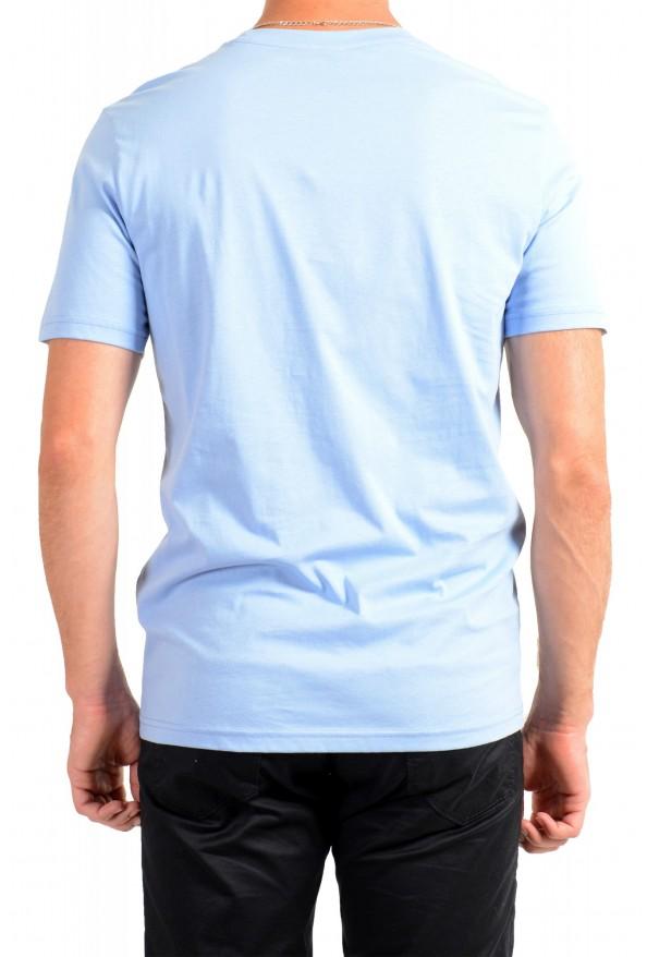 "Hugo Boss Men's ""Terand"" Blue Graphic Print Crewneck T-Shirt : Picture 3"
