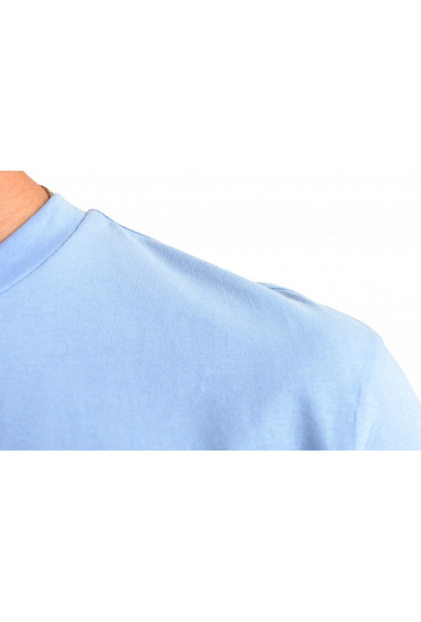 "Hugo Boss Men's ""Terand"" Blue Graphic Print Crewneck T-Shirt : Picture 4"