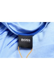 "Hugo Boss Men's ""Terand"" Blue Graphic Print Crewneck T-Shirt : Picture 5"